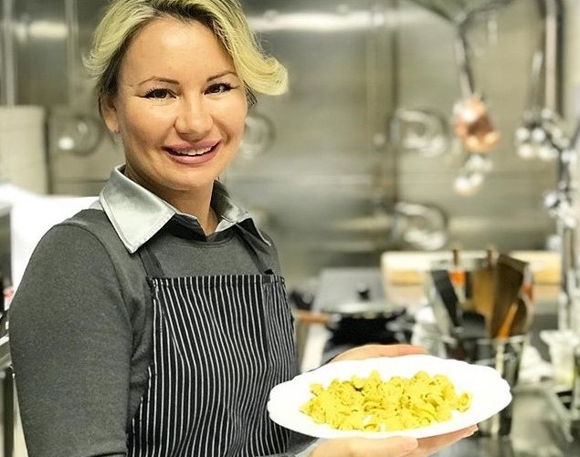 italian pasta, ravioli cooking master class in courmayeur