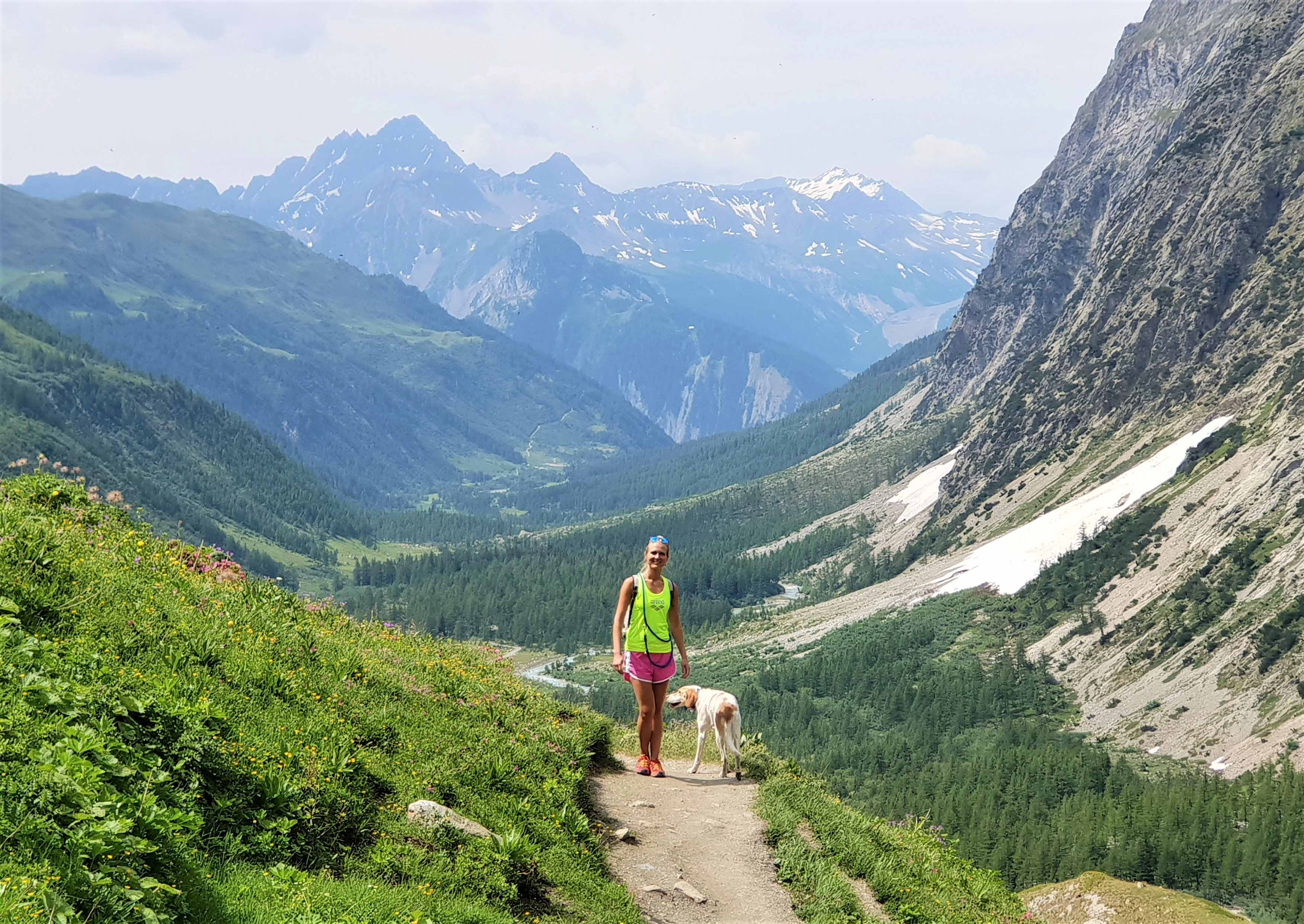 trekking with dogs in aosta valley, routes and guides