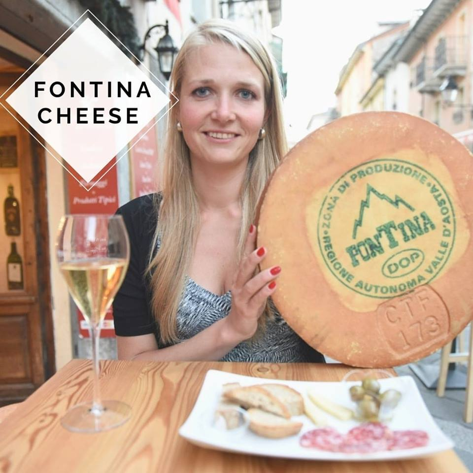 fontina cheese tasting in aosta valley